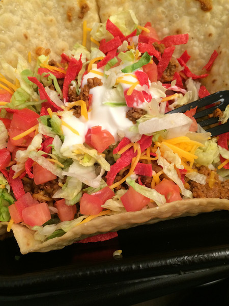 Taco Tuesday - Taco Salad from Taco Bell